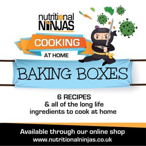 Nutritional Ninjas Baking Box and Online Class Pass